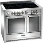 BAUMATIC BCE1025SS Electric Ceramic Range Cooker – Stainless Steel, Stainless Steel