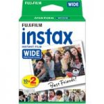 FUJIFILM P10GM13220A Instax Wide Film – Twin Pack
