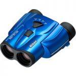 NIKON Aculon T11 8-24 x 25 Porro Prism Binoculars – Blue, Blue