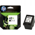 HP 62XL Black Ink Cartridge, Black