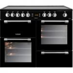 LEISURE Cookmaster CK100C210K Electric Ceramic Range Cooker – Black, Black