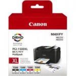 CANON PGI-1500XL Black & Colour Ink Cartridges – Multipack, Black