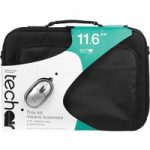 TECHAIR 11.6″ Laptop Bag & Mouse Bundle – Black, Black