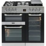 LEISURE Cuisinemaster CS90F530X Dual Fuel Range Cooker – Stainless Steel, Stainless Steel