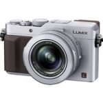 PANASONIC Lumix DMC-LX100EBS High Performance Compact Camera – Silver, Silver
