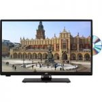 23.6″ JVC LT-24C655 Smart LED TV with Built-in DVD Player