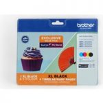 BROTHER LC123/LC129XL Cyan, Magenta, Yellow & Black Ink Cartridges – Multipack, Cyan
