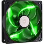 COOLERMASTER SickleFlow R4-L2R-20AG-R2 120 mm Case Fan – Green LED, Green