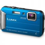 PANASONIC Lumix DMC-FT30EB-A Tough Compact Camera – Blue, Blue