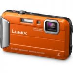 PANASONIC Lumix DMC-FT30EB-D Tough Compact Camera – Orange, Orange