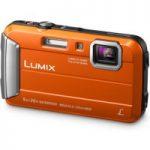 PANASONIC Lumix DMC-FT30EB-D Tough Compact Camera – Orange, Orange