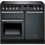 RANGEMASTER Hi-LITE 100 Electric Induction Range Cooker – Slate & Chrome