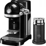 NESPRESSO Artisan Nespresso Hot Drinks Machine with Aeroccino 3 – Onyx Black, Black