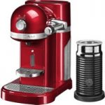 NESPRESSO Artisan Nespresso Hot Drinks Machine with Aeroccino 3 – Candy Apple