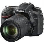 NIKON D7200 Digital SLR Camera with 18-105 mm f/3.5-5.6 Zoom Lens – Black, Black