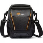 LOWEPRO Adventura SH100 ll Compact System Camera Bag – Black, Black