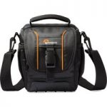 LOWEPRO Adventura SH 120 ll DSLR Camera Bag – Black, Black