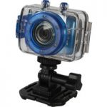 VIVITAR DVR786HD Action Camcorder – Blue, Blue