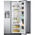 SAMSUNG Food ShowCase RH56J6917SL American-Style Fridge Freezer – Steel