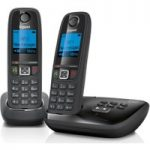 GIGASET Duo AL415A Cordless Phone with Answering Machine – Twin Handsets