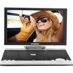 SYLVANIA SDVD1256 Portable DVD Player – Black & White, Black