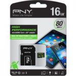 PNY Performance Class 10 microSD Memory Card – 16 GB