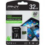 PNY Performance 10 microSD Memory Card – 32 GB
