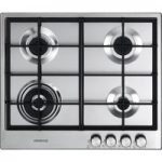 KENWOOD KHG603SS Gas Hob – Stainless Steel, Stainless Steel
