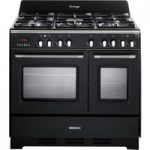 KENWOOD CK425-AN 90 cm Dual Fuel Range Cooker – Anthracite, Anthracite