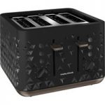 MORPHY RICHARDS Prism 248101 4-Slice Toaster – Black, Black
