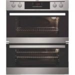 AEG NC4013021M Electric Double Oven – Stainless Steel, Stainless Steel