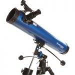 MEADE Polaris 76 EQ Reflector Telescope – Blue, Blue