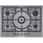 NEFF T25S56N0GB Gas Hob – Stainless Steel, Stainless Steel