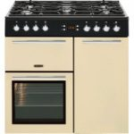 LEISURE A La Carte 90 AL90F230C Dual Fuel Range Cooker – Cream, Cream