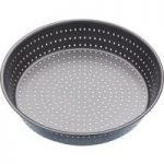 MASTER CLASS Crusty Bake 23 cm Non-stick Deep Pie Pan – Black, Black