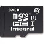INTEGRAL UltimaPro microSDHC Card – 32 GB