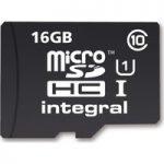 INTEGRAL UltimaPro Class 10 microSD Memory Card – 16 GB