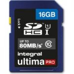 INTEGRAL UltimaPro Class 10 SDHC Memory Card – 16 GB