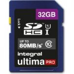 INTEGRAL UltimaPro Class 10 SDHC Memory Card – 32 GB