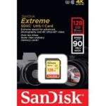 SANDISK Extreme Class 10 SDXC Memory Card – 128 GB