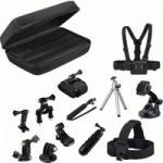 GOJI GAGOPRO15 GoPro Accessory Kit – Black, Black