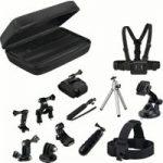 GOJI GAGOPRO15 GoPro Accessory Kit – Black, Black