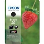 EPSON Strawberry 29 Black Ink Cartridge, Black