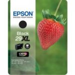 EPSON Strawberry 29 XL Black Ink Cartridge, Black