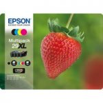 EPSON Stawberry 29 XL Cyan, Magenta, Yellow & Black Ink Cartridges – Multipack, Cyan