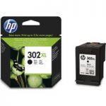 HP 302XL Black Ink Cartridge, Black