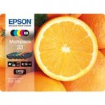 EPSON No. 33 Oranges 5-Colour Ink Cartridges – Multipack