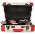 CROSLEY Executive Portable USB Turntable – Red, Red
