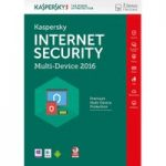 KASPERSKY Internet Security 2016 Multi Device (3 Devices, 1 Year)