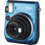 FUJIFILM Instax Mini 70 Instant Camera – 10 Shots Included, Blue, Blue